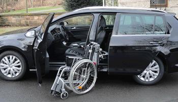 Porta scorrevole e Caricamento carrozzina VW POLO 7 VARIANT