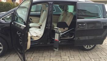 Porta scorrevole e Caricamento carrozzina VW SHARAN