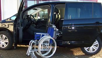 Porta scorrevole e Caricamento carrozzina VW TOURAN 2016