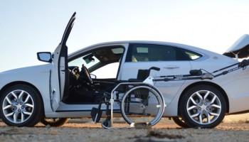 Porta robotizzata per carrozzina