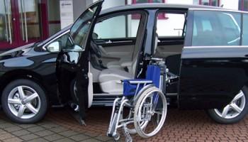 Porta scorrevole e Caricamento carrozzina VW POLO SPORTVAN